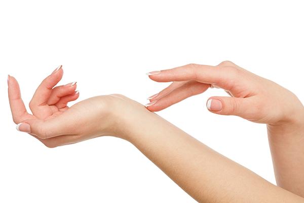 Woman's hands - natural vitiligo treatment