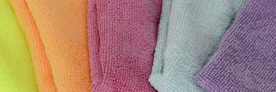 Colorful Hand Towels - cleaning products and skin